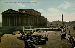MERSEYSIDE - LIVERPOOL - ST GEORGE'S HALL AND LIME STREET  Me760 - Liverpool