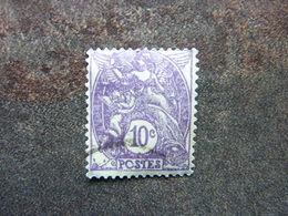 1927 Type Blanc Violet Y&T= 233  Très Bon état - 1900-29 Blanc