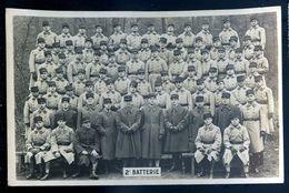 Cpa Carte Photo Régiment Du 401  MARS18-10 - Regiments