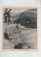 Maubeuge Une Coupole Blindée Détruite 1914 - 1914-18