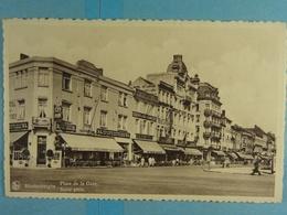 Blankenberghe Place De La Gare Statie Plein - Blankenberge