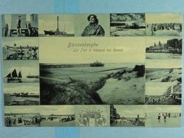 Blankenberghe Le Pier à Travers Les Dunes - Blankenberge