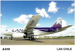 LAN-Chile - Airbus A-319 (Airbus Issue) - 1946-....: Moderne