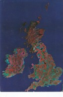 Postcard The British Isles From Space By Earth Images My Ref  B22411 - United Kingdom