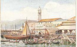 """Penang. Victoria Pier"" Tuck Oilette Wide-wide-world Series PC # 8961 - Tuck, Raphael"