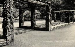 Gelsenkirchen, Eingang Zum Stadtgarten, Ca. 50er Jahre - Gelsenkirchen