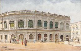 """""""Penang. The Town Club"""" Tuck Oilette Wide-wide-world Series PC # 8961 - Tuck, Raphael"""