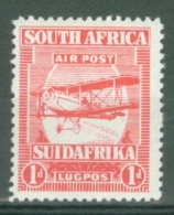 South Africa: 1925   Air - De Haviland D.H.9 Biplane   SG26    1d   MNH - South Africa (...-1961)