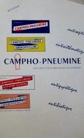 BUVARD Buvard Campho-Pneumine, Affectiuons Broncho-Pulmonaires. Suppositoires Et Cachets. (Pharmacie) - Produits Pharmaceutiques