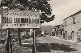CPSM  ITALIE  IMPERIA COLLE SAN BARTOLOMEO - Italy