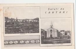 CPSM  ITALIE   CARTARI SALUTI DA - Italy