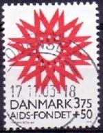 DENEMARKEN 1996 Aidsfonds GB-USED - Gebraucht
