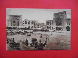 BUKHARA 1930x Madrasa Kukol-Tash. Russian Postcard. - Uzbekistan