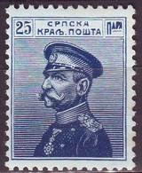 Serbia, 1911/1914 - 25p Karageorgevich - Nr.118 MNH** - Serbia