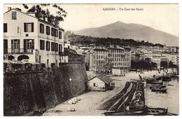 AJACCIO (20) - Un Coin Des Quais - Ed. Collection J. Moretti, Corte, N° 451 - Ajaccio