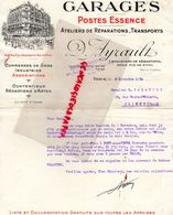75- PARIS- RARE LETTRE GARAGES POSTE ESSENCE-D. AYRAULT- 7 BD SEBASTOPOL-ANGLE RUE RIVOLI-1934  GARAGE - Cars