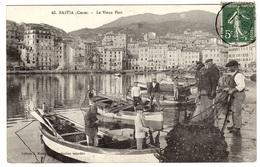 BASTIA (20) - Le Vieux Port - BARQUES - BATEAU - BELLE ANIMATION - Ed. J. Moretti - Bastia
