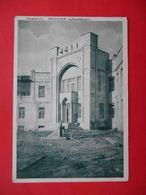 TASHKENT 1930 Institute Of Irrigation.  Russian Postcard. - Uzbekistan