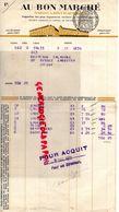 75- PARIS- FACTURE AU BON MARCHE -MAISON BOUCICAUT- 1931 - Old Professions
