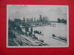 TASHKENT 1930 Park And Lake BOZ-SU.  Russian Postcard. - Uzbekistan