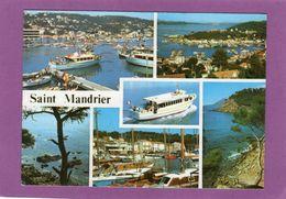 83 Souvenir De SAINT MANDRIER MULTIVUES Bateaux - Saint-Mandrier-sur-Mer