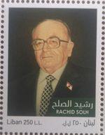 Lebanon NEW 2018 MNH Stamp Late Prime Minister Rasheed Solh - Lebanon