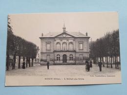 L'Hôtel De Ville ( Vandenhove ) Anno 1918 ( Voir Photo ) ! - Mouy