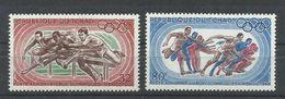 TCHAD YVERT AEREO  49/50   MNH  ** - Verano 1968: México