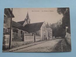 Les Ecoles Et L'Eglise ( BUC ) Anno 19?? ( Voir Photo ) ! - Buc