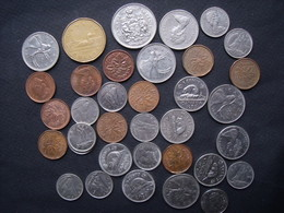 CANADA = MONNAIE=  UN LOT DE 20,78 DOLLARS - Canada