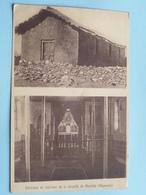 Extérieur Et Intérieur De La Chapelle De MENDIDA ( Phototypie Rue De Canteleu Lille ) Anno 19?? ( Voir Photo ) ! - Ethiopie