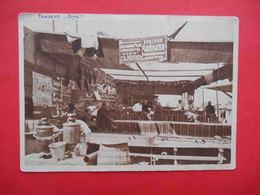 TASHKENT 1930x Urda, Red Tea House. Tea, Agitation, Advertising. Russian Postcard. - Uzbekistan