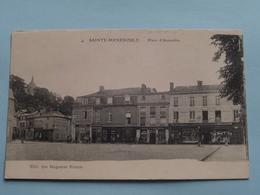 Place D'Austerlitz ( 4 ) Anno 19?? ( Voir Photo ) ! - Sainte-Menehould