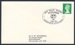 Great Britain 1986 Cover / Brief / Lettre - Nene Valley Railway - Introduction Letter Service / Eisenbahn / Post - Treinen
