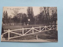 Les Ibis - Le Tennis ( A.C. 45 - L'Abeille ) Anno 19?? ( Voir Photo ) ! - Le Vésinet