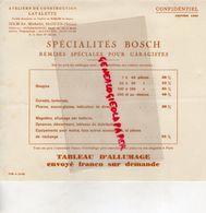 93- SAINT OUEN- PUBLICITE ATELIERS CONSTRUCTION LAVALETTE- 32 AV. MICHELET-JANVIER 1933 GARAGE GARAGISTES - Old Professions