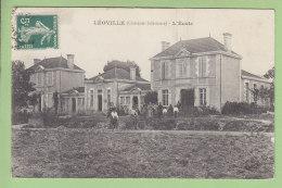 LEOVILLE : L'Ecole. 2 Scans. Edition ? - Andere Gemeenten