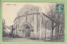 BURIE : L'Eglise. 2 Scans. Edition Joubert - Andere Gemeenten