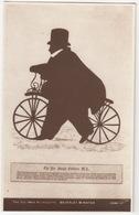 Vélocipède / Hobby-Horse -The Reverend Joseph Coltman, M.A.,Vicar Of Beverley Minster - The Coltman Silhouette - Postkaarten
