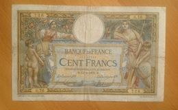 """France  100 Francs  14.2.1908 With """"LOM"""" - 1871-1952 Anciens Francs Circulés Au XXème"""