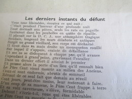 Militaria/Pére Cent/403e D.C.A./Désiré Pére Cent Baron Nhou De La Deyceha/TOUL/METZ/STRASBOURG/BELFORT/1934      VPN138 - Documents