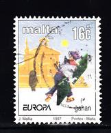 Malta 1997 Mi Nr 1012  Sagen En Legenden, Europa - Malta