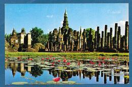 THAILAND THE RUIN OF WAT MAHATAT SUKHOTHAI PROVINCE - Tailandia