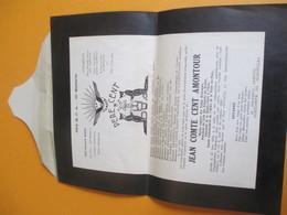 Militaria/Pére Cent/403e D.C.A./Jean Comte Cent Amontour /TOUL/METZ/STRASBOURG/BELFORT/1934      VPN140 - Documents