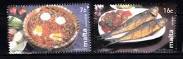 Malta 2002 Mi Nr 1233 + 1235 Eten Van Malta, Food From Malta - Malta