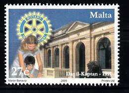 Malta 2005 Mi Nr 1375  100 Jaar Rotary - Malta