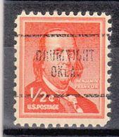 USA Precancel Vorausentwertung Preo, Locals Oklahoma, Drumrigth 704 - Vereinigte Staaten