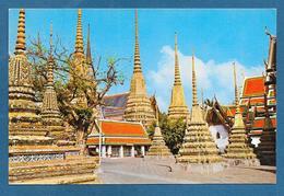 THAILAND THE PAGODAS OF THE WAD PHRA JETUPHON BANGKOK - Tailandia
