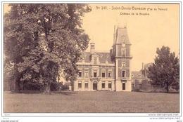 Saint-Denis-Bovesse - Kasteel - Château De La BRUYERE * - La Bruyère