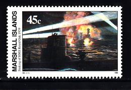 """Marshalleilanden 1989 Mi Nr 245 Second War:  HMS """"Royal Oak"""" - Marshalleilanden"""